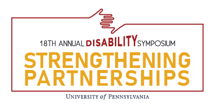 18th Annual Disability Symposium Logo: Strengthening Partnerships