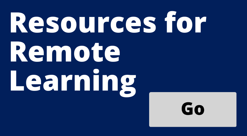Go Button for Resources for Remote Learning