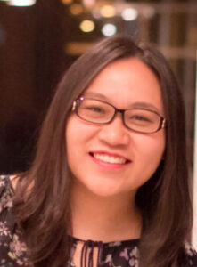 Hoang Anh Phan, a doctoral student in the chemistry department at Penn and an international student.